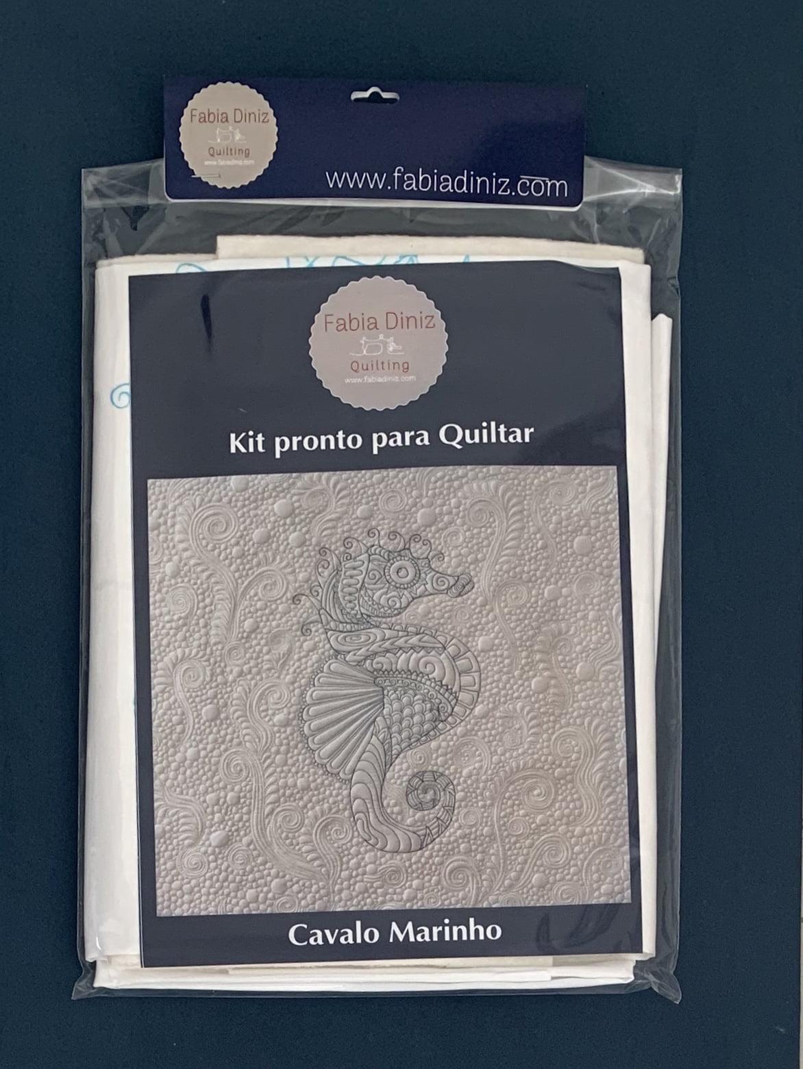 Kit Cavalo Marinho  - Pronto para Quiltar
