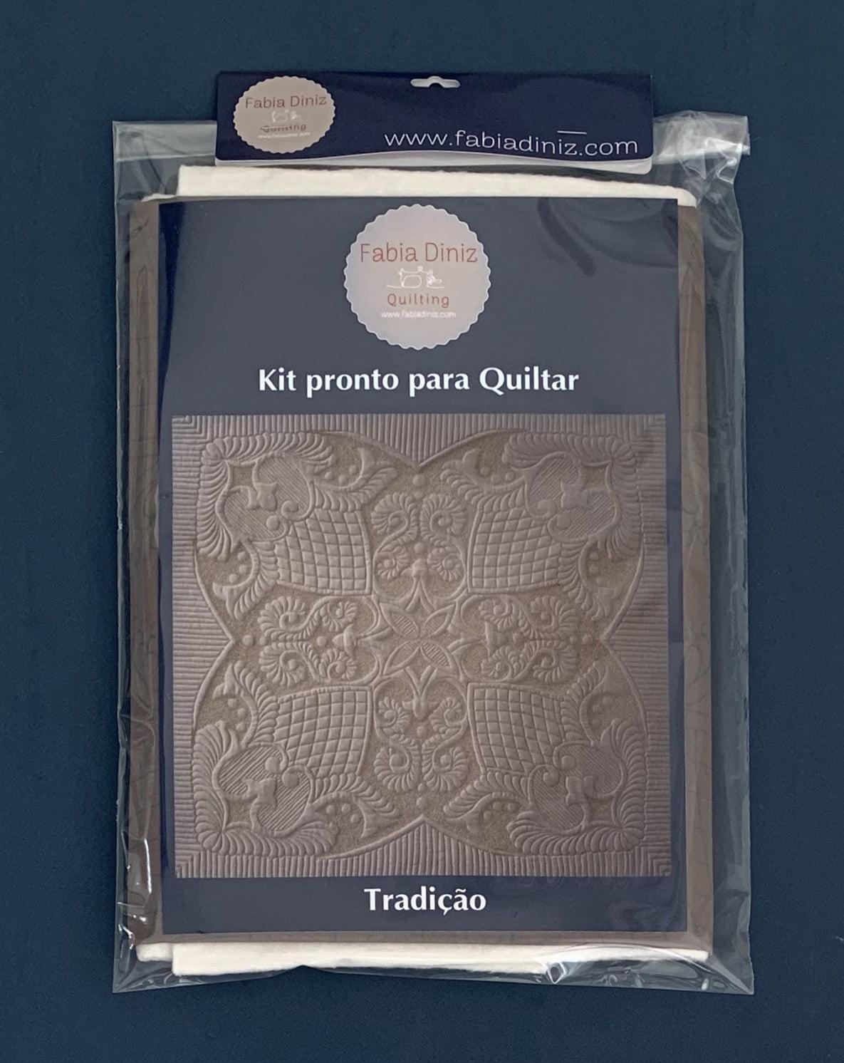 Kit Tradição  - Pronto para Quiltar