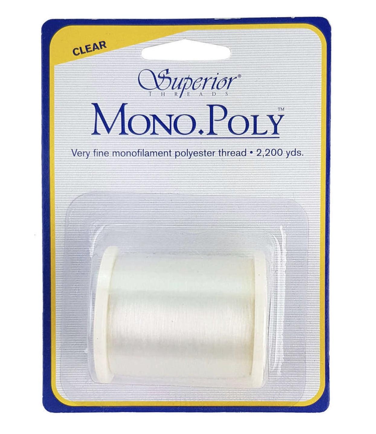 Linha invisível Superior Thread Mono.Poly Clear