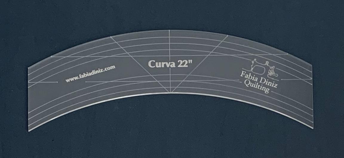 """Régua Curva de 22"""""""