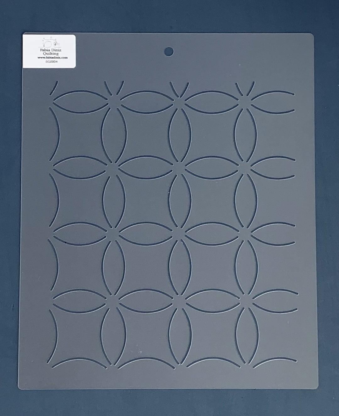 Stencil Background BG-0004 30,5x25,5 cm