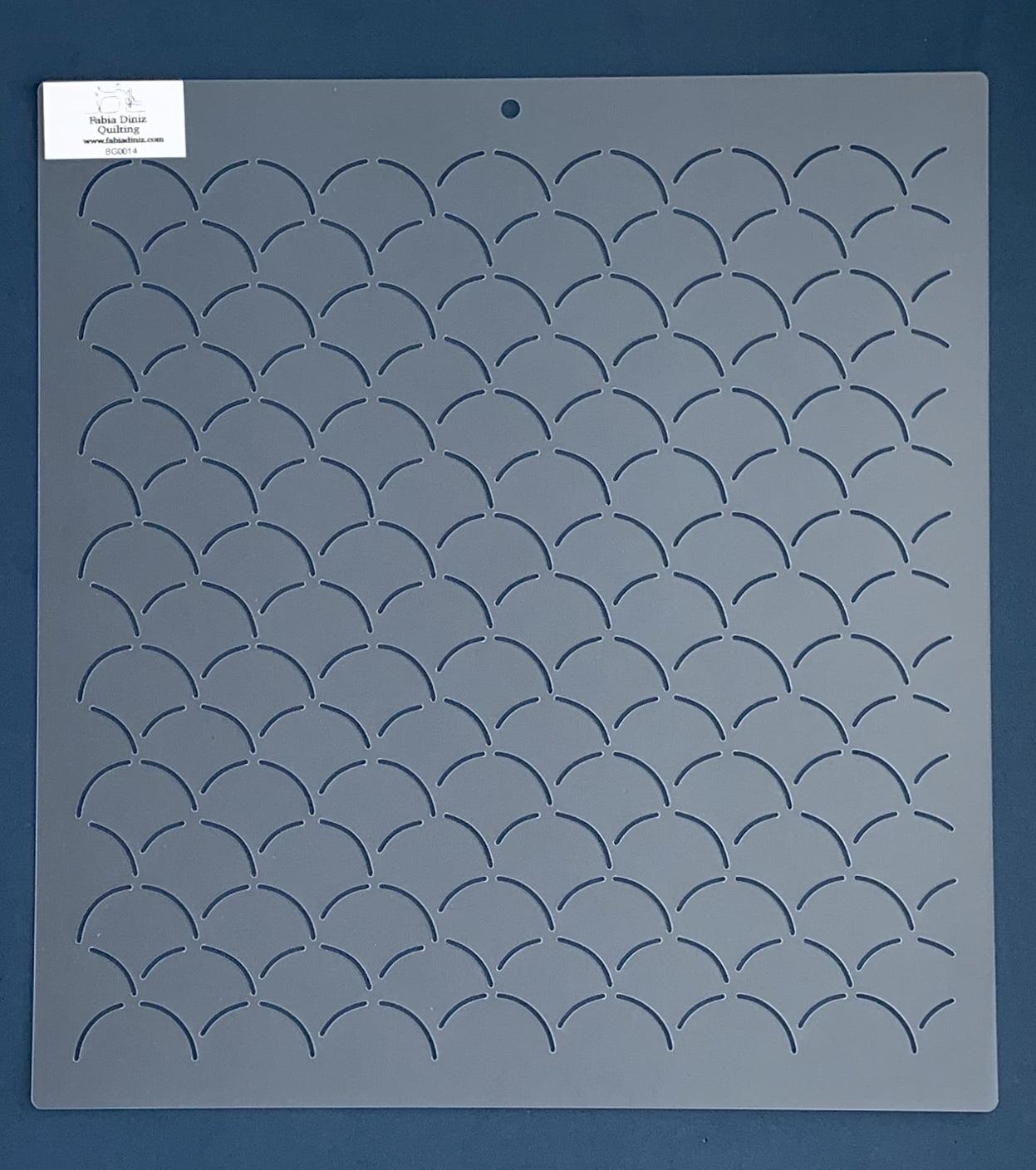 Stencil Background BG-0014 33x30,5 cm