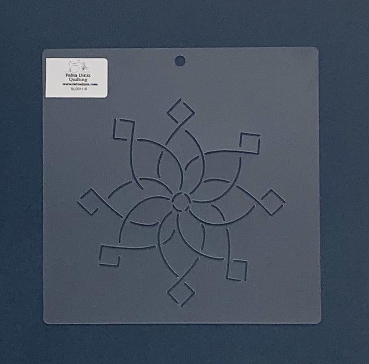 Stencil Bloco BL-0011-6 20x20 cm