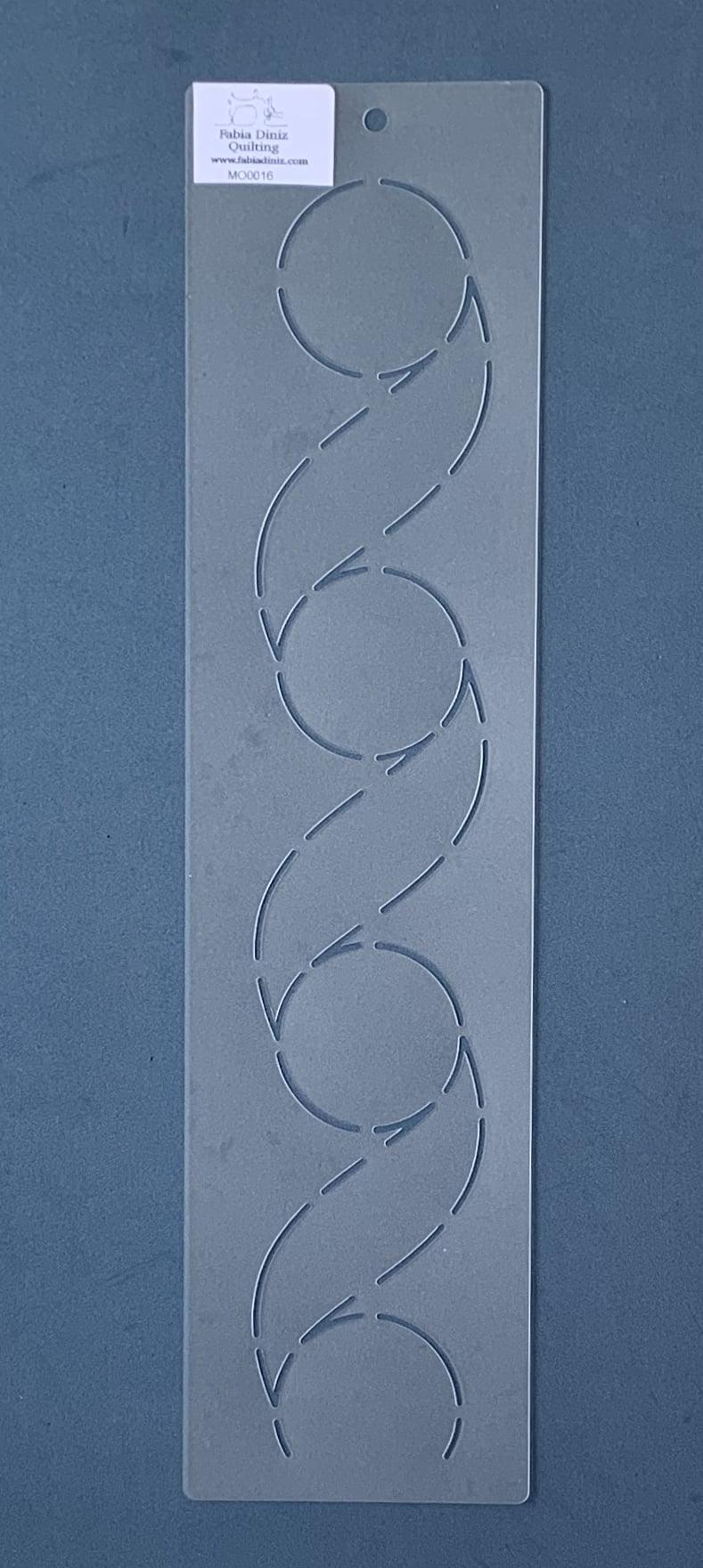 Stencil Moldura MO-0016 38 x 9,5 cm