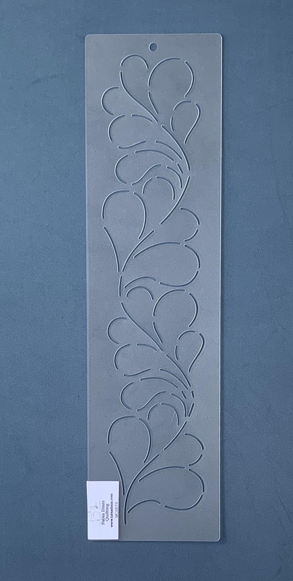 Stencil Moldura MO-0018 38 x 10 cm