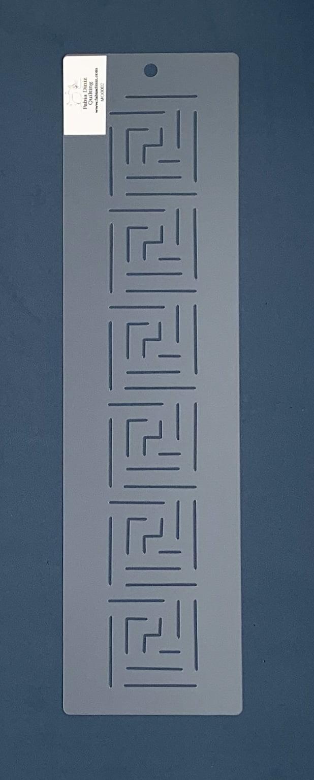 Stencil Moldura MO-0002 38x10,5 cm