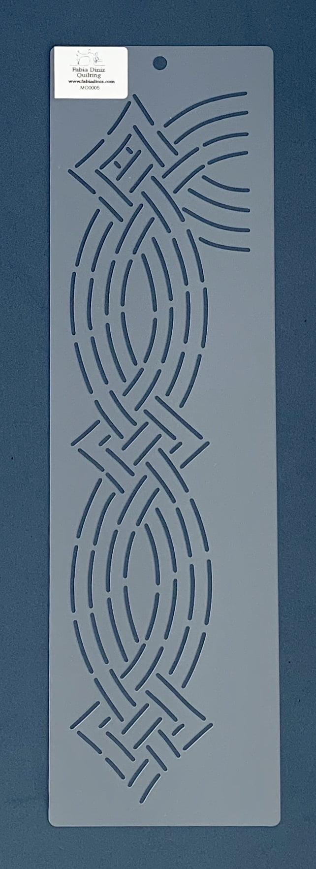 Stencil Moldura MO-0005 43x13 cm