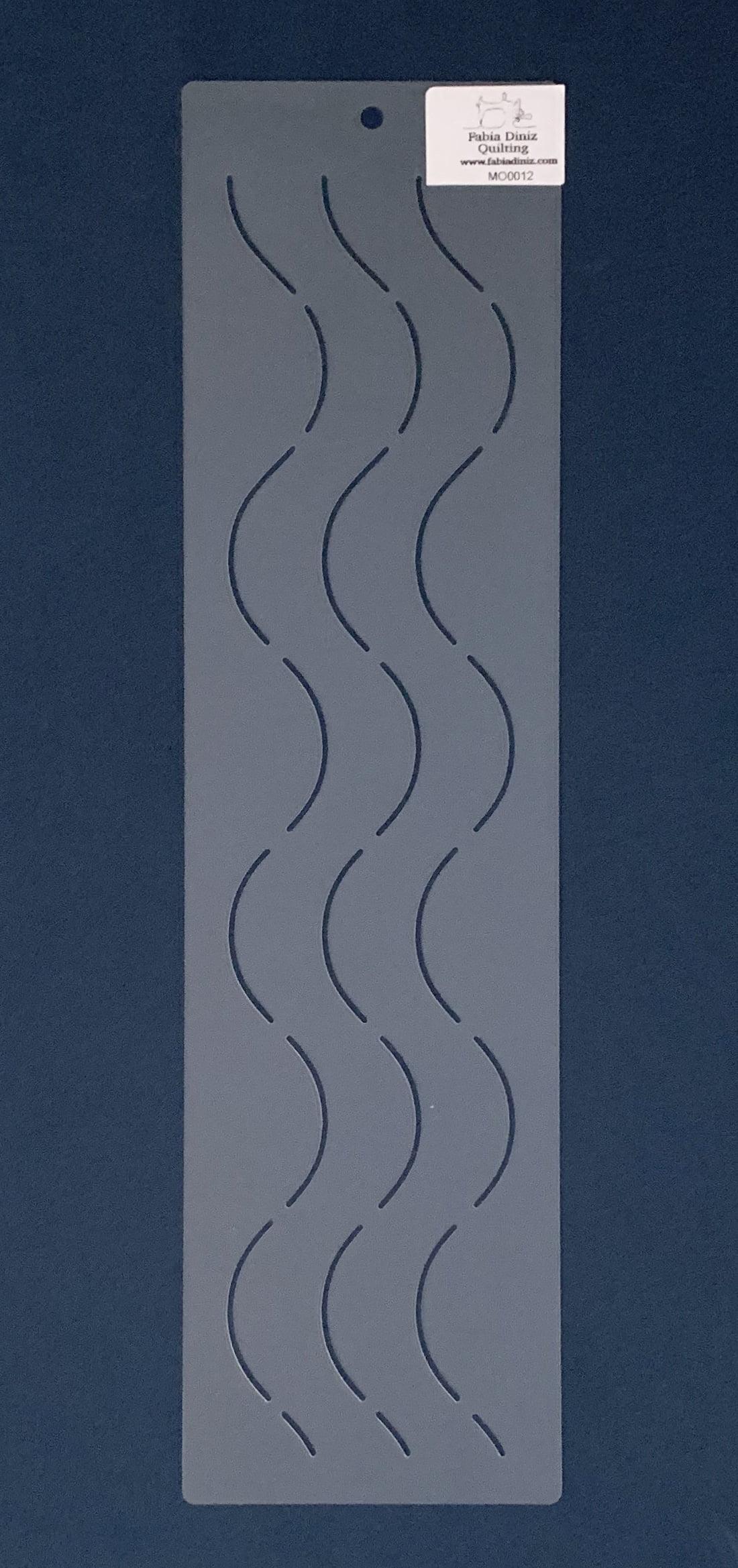 Stencil Moldura MO-0012  38 x 10,5 cm