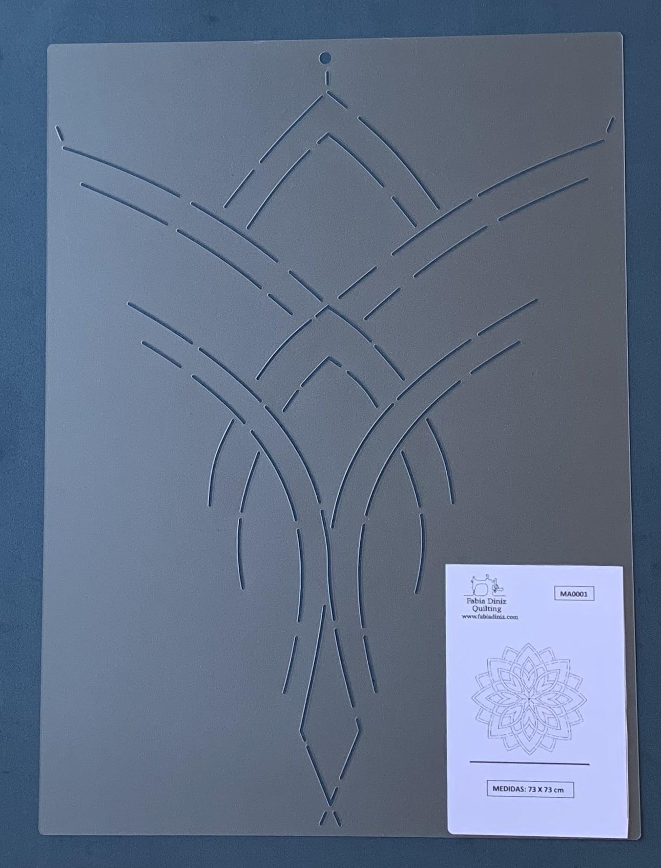 Stencil Mandala MA-0001 41 x 30 cm