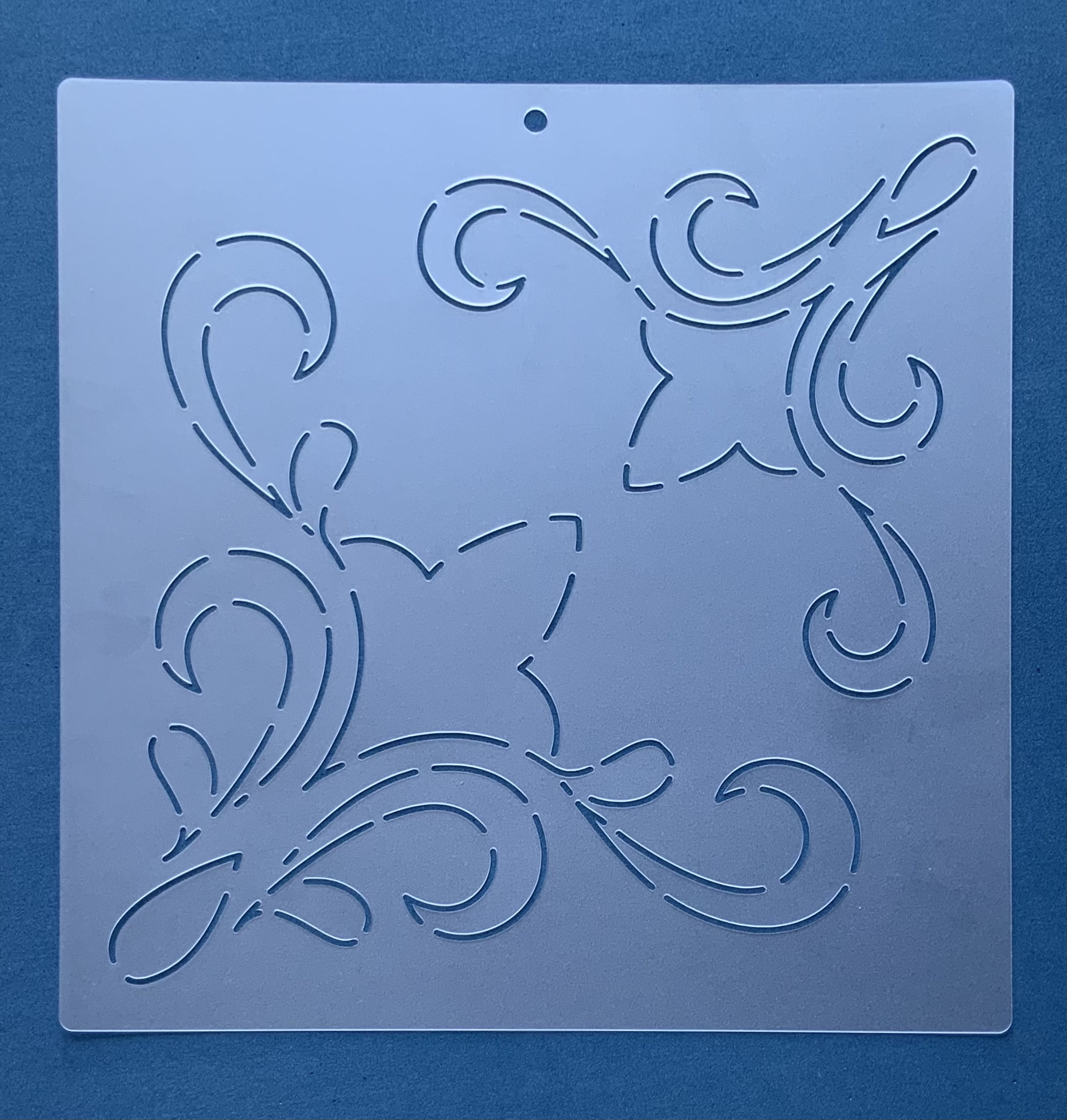 Stencil para Cantos CA-0001 25,50x25,50 cm