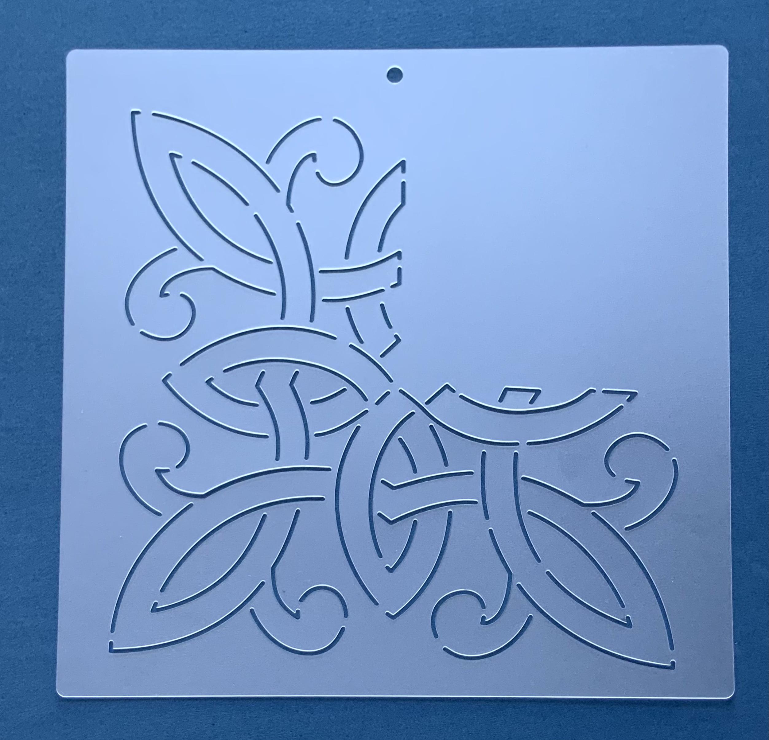 Stencil para cantos CA-0004 25,50x25,50 cm