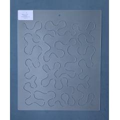 Stencill Background BG-0018 30,5 x 30,5 cm