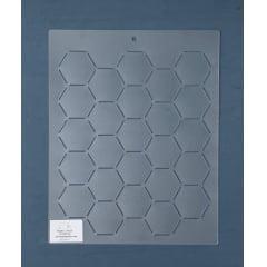 Estêncil Background BG-0010 25,5 x 30,5 cm