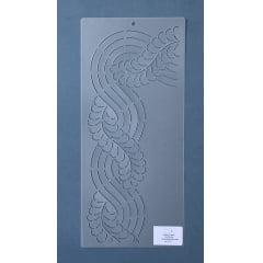Stencil Moldura MO-0017 35,5 x 16 cm