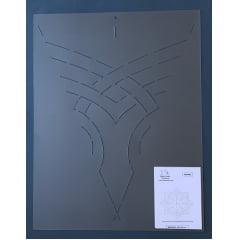 Stencil Mandala MA-0002 43 x 33 cm
