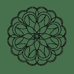 Stencil Mandala MA-0003 43 x 33 cm